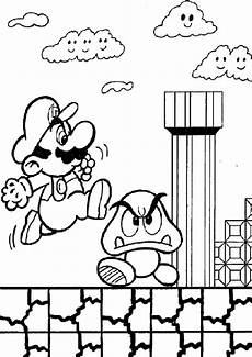 Gratis Malvorlagen Mario Ausmalbilder Mario Kostenlos Malvorlagen Zum