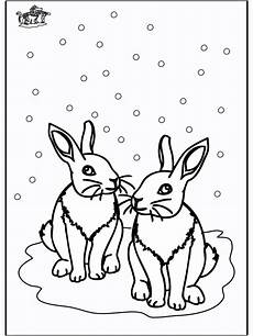 Ausmalbild Hase Winter Malvorlage Winter Tiere Coloring And Malvorlagan