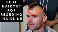 best haircut for men with receding hairlines youtube