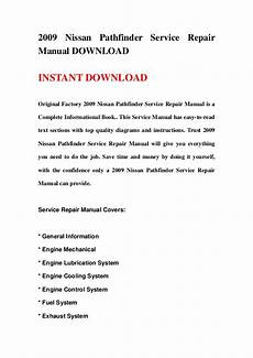 how to download repair manuals 2009 nissan pathfinder seat position control 2009 nissan pathfinder service repair manual download