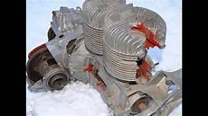 Ddr Ifa Trabant 600 Schnittmotor Motor Kolben Zylinder No