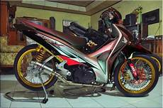 Supra X 125 Modif by Foto Modifikasi Honda Supra X 125 Terbaru Moto Plus Plus