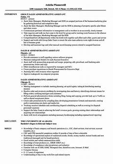 resume sle administrative asistant sales administrative assistant resume sles velvet