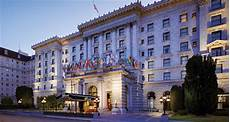 the fairmont hotel san francisco ca historic hotels of america