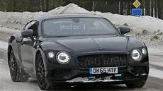 2018 Bentley Continental Gt Spied Looking Lean And