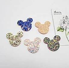 Amazon Com 50pcs Mix Different Amazon Com Patches 50pcs Lot 3 5cm Shiny Glitter Cat Head