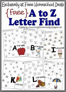 alphabet worksheets for kindergarten a to z free 23438 free instant complete a to z letter find worksheet packet 27 pages preschool