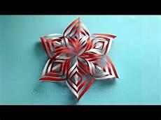 Weihnachtsdeko Basteln Aus Papier - weihnachtsbasteln sterne basteln mit papier f 252 r