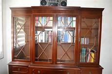 bibliothèque anglaise meuble biblioth 232 que style anglais luckyfind