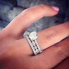 15 best collection of solitaire engagement rings with wedding bands