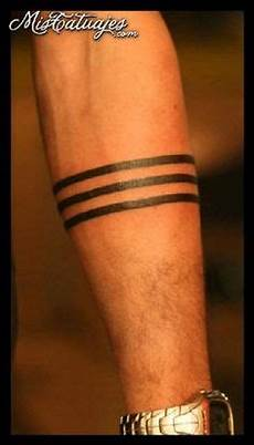34 solid band tattoos