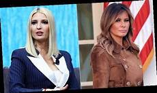 melania trump tried to block ivanka from being seen at