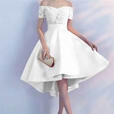 Model Baju Mini Dress Pesta Simple Bahan Brukat Ryn Fashion