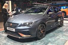 Seat Cupra R St Estate On Show At Geneva Auto
