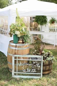 backyard rustic wedding decorations outdoor rustic