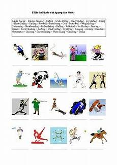 35 sports and extreme sports a worksheet by sessizlik ve tpt