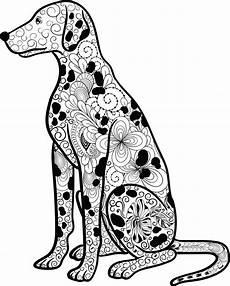 Ausmalbilder Hunde Erwachsene Mandala Hund Dalmatiner Ausmalen Ausmalbilder