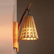 bamboo wall light sconce l ls vintage sconces home lighting loft style