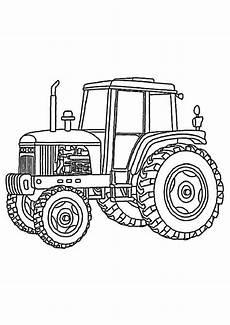 kleurplaat tractor fendt ausmalbilder kostenlos traktor 10