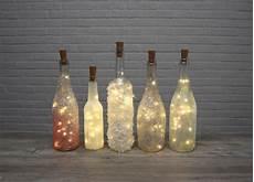 Glanzvolle Flaschenlichter Ganz Einfach Selber Basteln