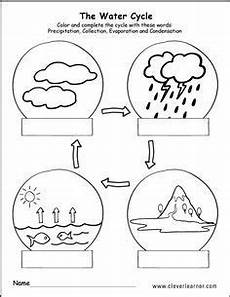 science worksheets for nursery class 12314 printable water cycle worksheets for preschools water cycle water cycle worksheet water