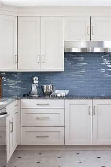 Blue Glass Tile Kitchen Backsplash Blue Glass Kitchen Backsplash Tiles Transitional Kitchen