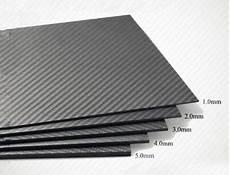 400 500mm 100 carbon fiber plate panel diy sheet 3k plain