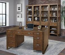 home office furniture raleigh nc parker house home office 60 inch pedestal desk bro 485 2