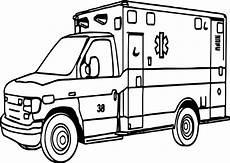 important ambulance coloring page wecoloringpage