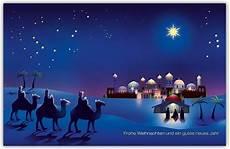 christliche weihnachtskarte mit hl drei k 246 nigen in der
