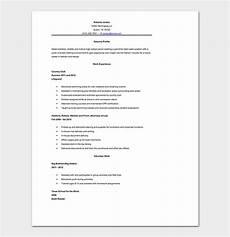 high school resume template 10 sles formats