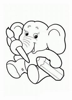 malvorlagen kostenlos elefant http www ausmalbilder co