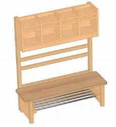 Kindergarderobe Mit Sitzbank - garderobenkombination f 252 r kindergarten garderoben