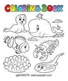 Malvorlagen Unterwassertiere S Unterwassertiere Malvorlagen Tiere Illustration Tiere