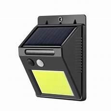outdoor solar light 48led cob smart ir motion sensor wall