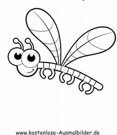 malvorlagen insekten kostenlos malbild