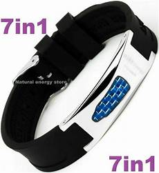 7in1 Bracelet Magnetic Energy Armband Power by Titanium Magnetic Energy Armband Power Bracelet Health Bio