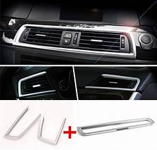 auto air conditioning repair 2011 bmw 5 series seat position control aliexpress com buy cnoricarc chrome middle console air conditioner outlet decorative frame car