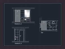 Bathroom Window Revit by Bathroom In Autocad Cad Free 204 32 Kb