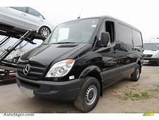 2011 Mercedes Benz Sprinter 2500 Cargo Van In Carbon Black