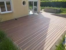 bois composite pour terrasse kanfen terrasse bois composite 105 m2 terrasse