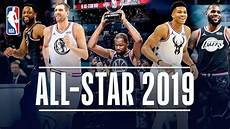 2019 nba all star weekend all access youtube