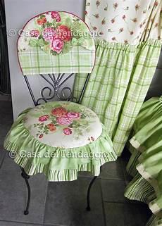 cucire cuscini per sedie cuscino per sedia con tessuto country a fiori cuscini