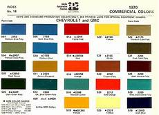 1970 color code the 1947 present chevrolet gmc truck message gmc trucks chevy