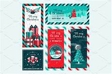 merry christmas postcard custom designed illustrations creative market
