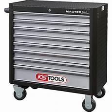ks tools 878 0008 werkstattwagen xl schwarz silber