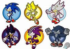 sonic forms by xrubimalonex on deviantart