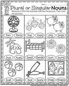 plural and singular nouns circle the correct noun for each picture and write the word on the