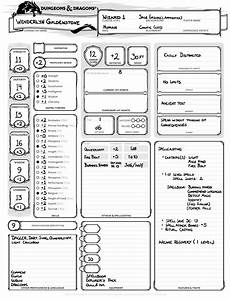 dnd basic rules wenderlyn guildenstone human wizard
