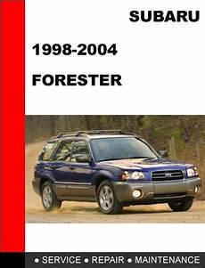 automotive repair manual 1998 subaru forester user handbook 1998 2004 subaru forester factory service repair manual download
